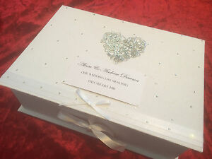 Extra Large Wedding Gift Box : EXTRA-LARGE-Wedding-Keepsake-Box-Personalised-Birthday-Engagement-Gift ...