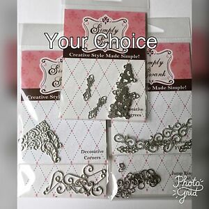 Simply-Swank-Decorative-Filigrees-for-Solder-Projects-Your-Choice-NEW