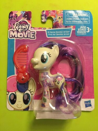 NEW AND SEALED My Little Pony The Movie All About Sweetie Drops Doll