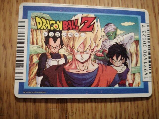 RARE Dragon Ball z Carddas Amada Pp Prism Card Part 14 Japan
