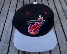 NEW RHTMIT-26 MITCHELL /& NESS TEAM NBA MIAMI HEAT 5 PANELS CAMPING SNAPBACK HAT