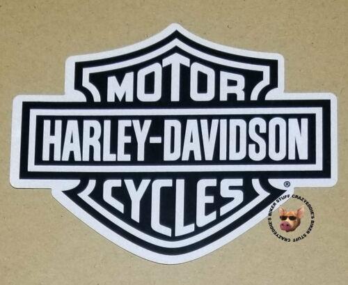 HARLEY DAVIDSON REFLECTIVE BAR /& SHIELD DECAL SILVER AND BLACK MADE IN USA