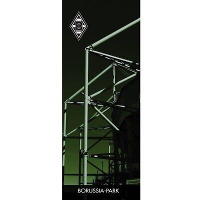 ZIMMERFAHNE FAHNE FLAGGE 45x116 cm BORUSSIA MÖNCHENGLADBACH NEU