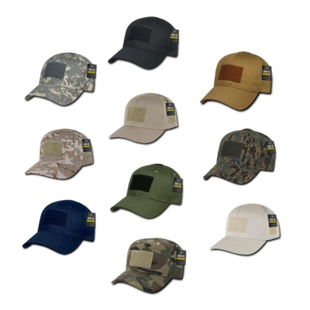 Stone Light Tan Tactical Operator Contractor Military Army Patch Cap Hat