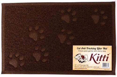 Kitti Cat Litter Anti Tracking Mats  -   24 x 16