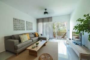 Venta  departamento 2 habitaciones amueblado Sabbia Playa del Carmen P3534