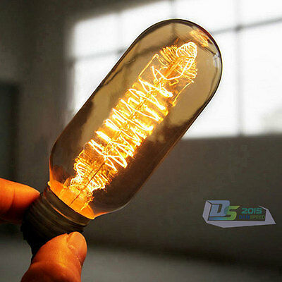 E27 40W Filament Glass Light Bulb Retro Antique Style Edison Lamp 220V Cafe Bars