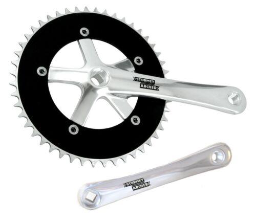 Fixed Gear Fixie Chainset 48T 170mm Single Speed Crank Set STURMEY ARCHER 42T
