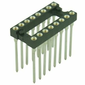 Details zu Turned Pin Wire Wrap DIL IC Sockets 0.3in 8 Pin