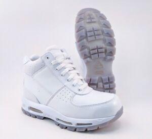 best cheap 81e1e 87d2b Image is loading Nike-Air-Max-Goadome-ACG-Boots-White-Mens-