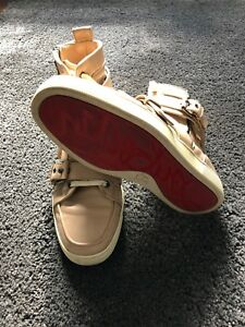 fb3821073ea2 Image is loading Christian-Louboutin-Mens-High-Top-Sneaker-size-40