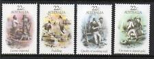 AUSTRALIA MNH 1981 SG774-777 GOLD RUSH ERA - SKETCHES BY S T GILL SET OF 4