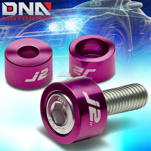 J2 FOR ACCORD PRELUDE PURPLE MOTOR IGNITION DISTRIBUTOR METRIC CUP WASHER+BOLT