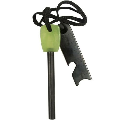 UST sparklite Glo Glow in the Dark Fire Steel Starter Camping Outil