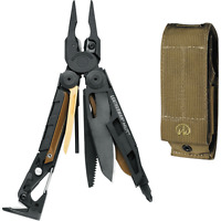 Leatherman Mut Multi-tool With Brown Molle Sheath Black Oxide on sale