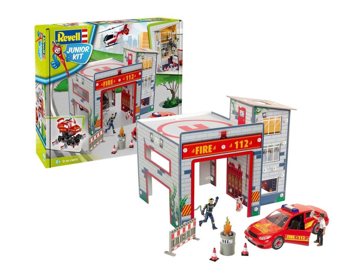 Revell 00850 Junior Kit Spielset Feuerwehr Set Neu 00850