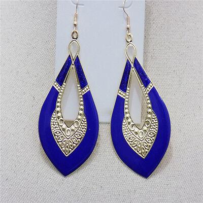 NE Fashion Women's Crystal Rhinestone Ear Stud Dangle Earrings Charming Jewelry