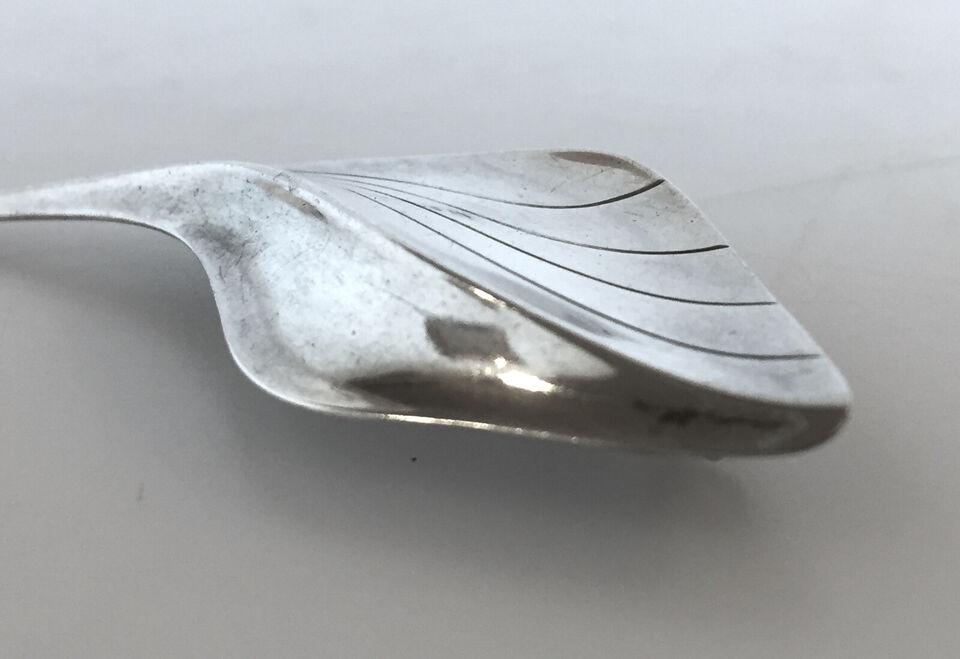 Herman Siersbøl broche af sølv