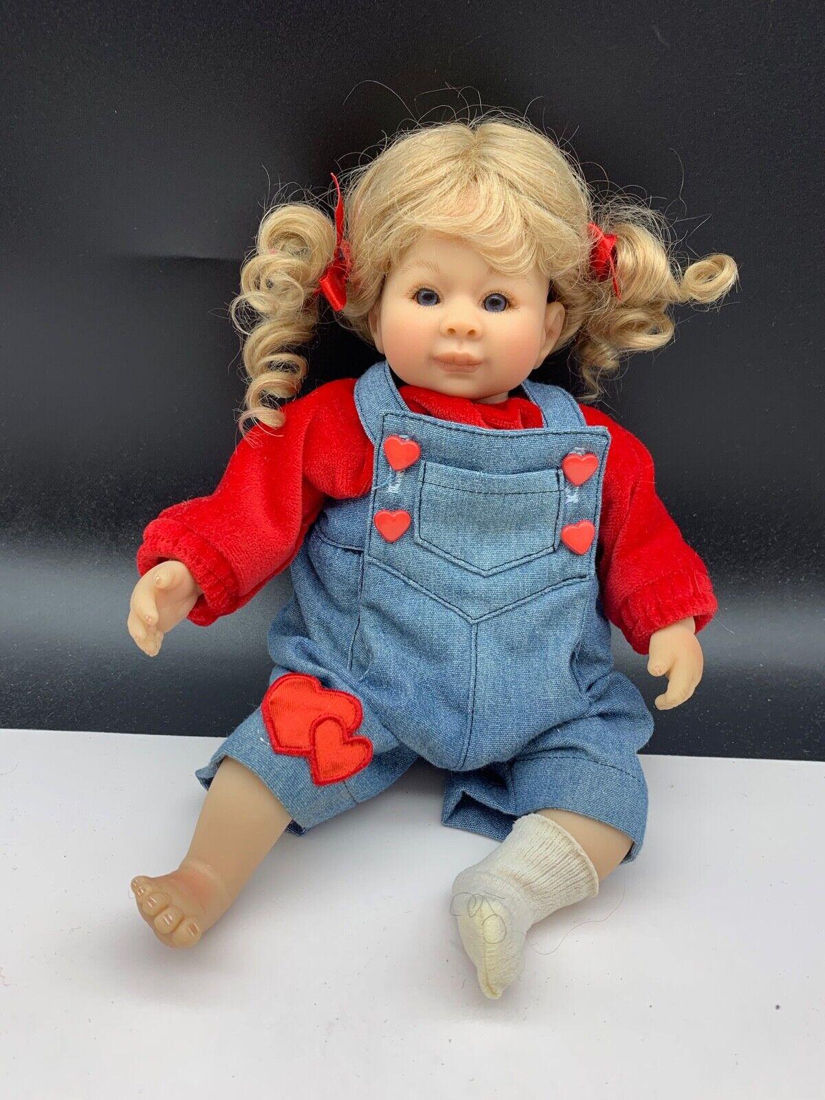 Monika peter leicht artisti BAMBOLA vinile bambola 28 CM.  OTTIMO stato  profitto zero
