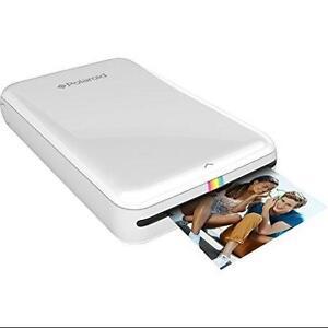 Polaroid ZIP Instant Mobile Printer with ZINK Zero Ink Printing Technology-White