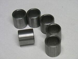 """Steel Bushings 1"""" OD X 3/4"""" ID X 7/16"""" Long 40 Pcs"""