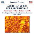 American Music for Percussion, Vol. 2 (CD, Apr-2011, Naxos (Distributor))