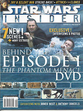 Star Wars Insider Issue #56 Episode I DVD Ahmed Best Anthony Daniels Interview