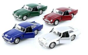 1-38-Scale-Kinsmart-1963-Aston-Martin-DB5-Diecast-Model-Car-pull-back-5-inch-NEW