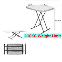 Garden Outdoor Patio Plastic Folding Table Furniture 2ft Portable Camp Homebase