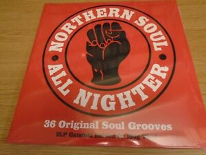 VARIOUS-Northern-Soul-All-Nighter-UK-double-LP-2016-new-mint-sealed-180g