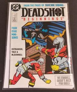DEADSHOT-1-VF-NM-Suicide-Squad-DC-1988-more-in-store