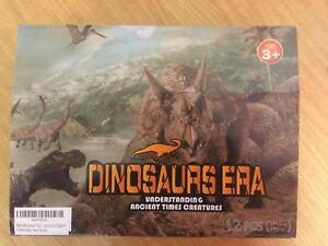 Dinosaurs Dinosaur Era Jurassic Era 12 Piece Set Brand New Ancient Times New Toys & Hobbies Action Figures