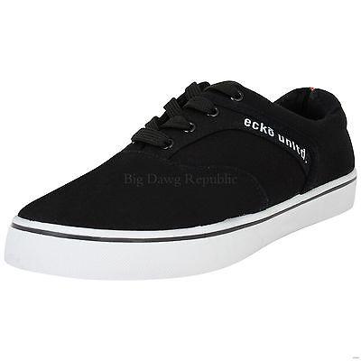 Ecko Herren Jungen Leinen Hip Hop Skateboard Schuhe Turnschuhe