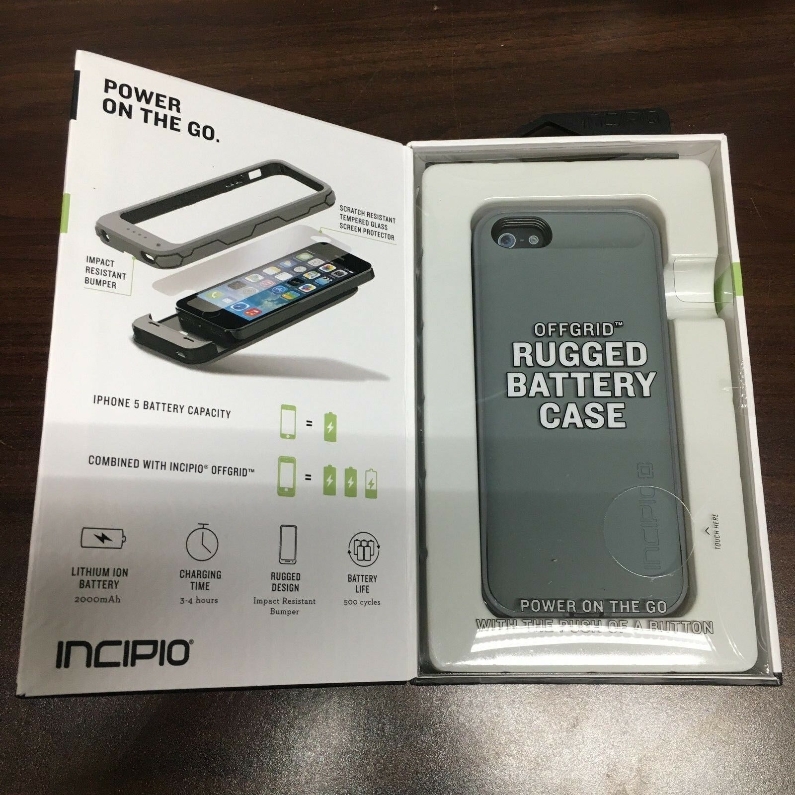 New Incipio Offgrid Rugged Battery Case
