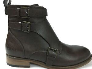 marrone Sz Punta cerniera Dress Boot Guess 5 Mens tonda Fashion 9 con Ankle Ravish Fibbia 6z6Tw7x