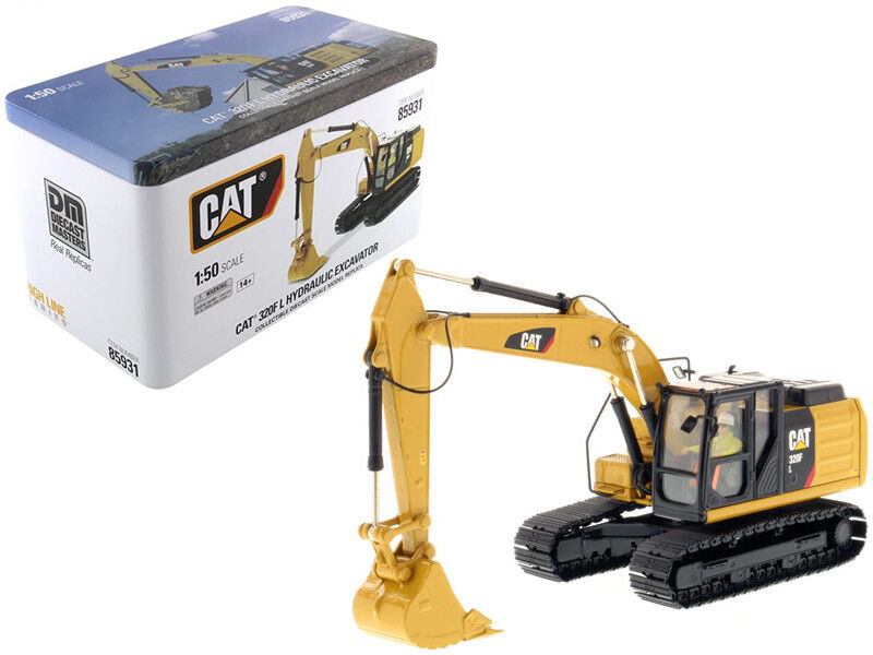 CAT Caterpillar 320F L Hydraulic Excavator with Operator High Line Series 1 50 D