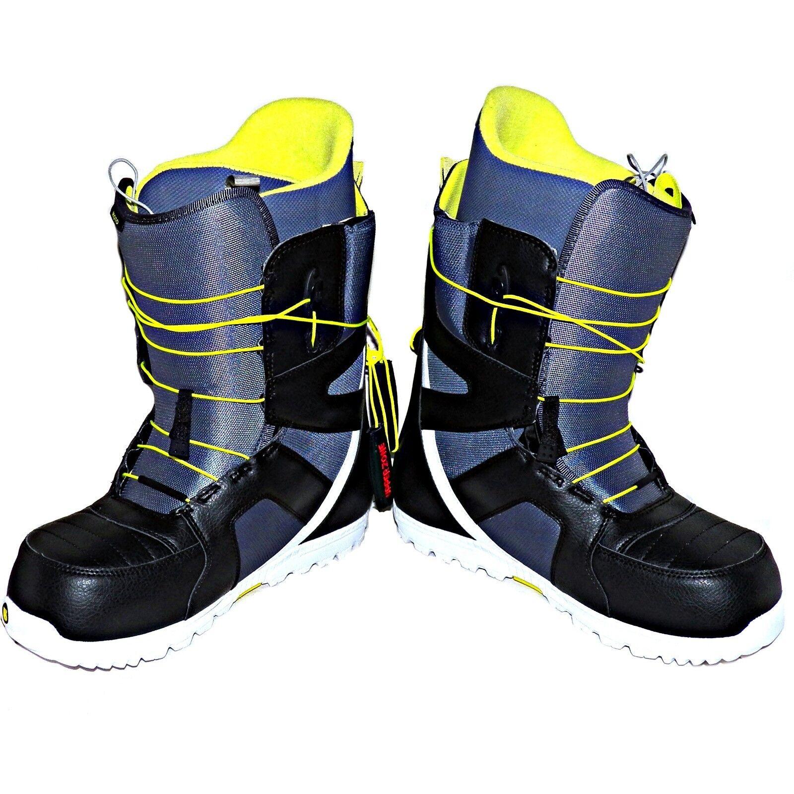 Burton Moto Snowboard Nieve botas Deportivas Velocidad Zone Sistema de Cordones