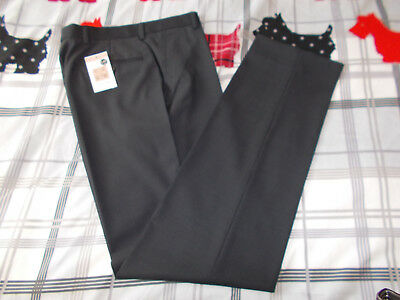 """Clothing, Shoes & Accessories Brand New Mens Slim Fit Trousers From M&s Size 28"""" Waist Pants long Leg Rrp £49.00 For Improving Blood Circulation"""