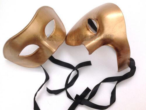 Couple Masquerade Ball Mask Pair Phantom Masquerade Dance Prom Wedding Party