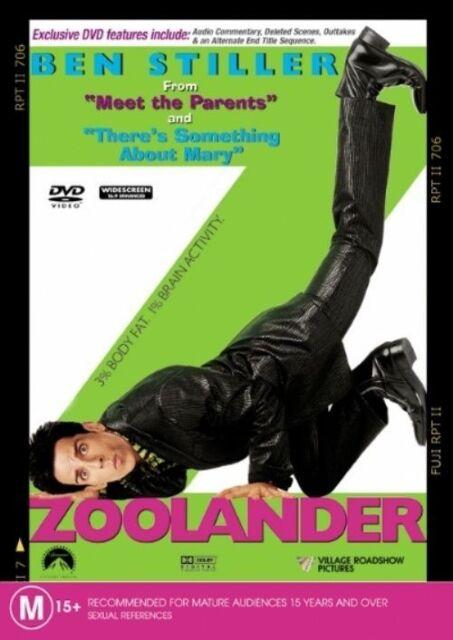 Zoolander (DVD, 2002)**R4**Ben Stiller*Terrific condition*