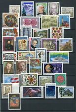 AUSTRIA 1990 MNH COMPLETE YEAR 35 Items
