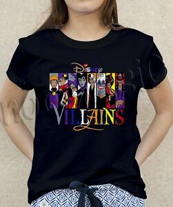 Most-Popular-Disney-Character-Villains-Princess-T-Shirt-Tee-Women