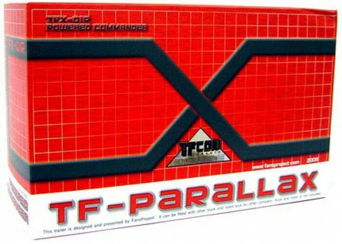 Transformers TF-Parallax TF-Parallax TF-Parallax TFX-OIR Powered Commander Trailer Upgrade Kit Exclusive a1da4b