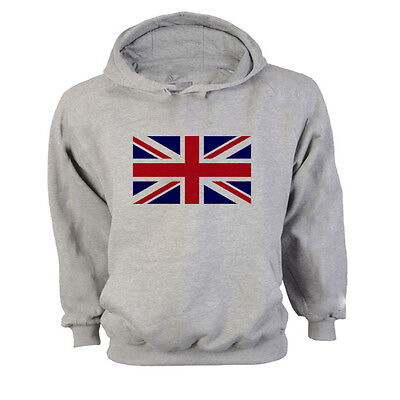 Clever Union Jack Uk Great Britain Gb Flag Hoodie Sweatshirt Jumper - All Sizes Vertrieb Von QualitäTssicherung