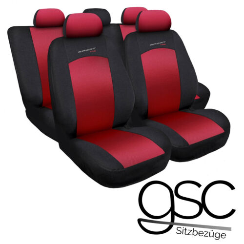 Mitsubishi Lancer Universal Rot Sitzbezüge Sitzbezug Auto Schonbezüge Schonbezug