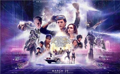 Ready Player One hot movie poster 40x24 inches 14