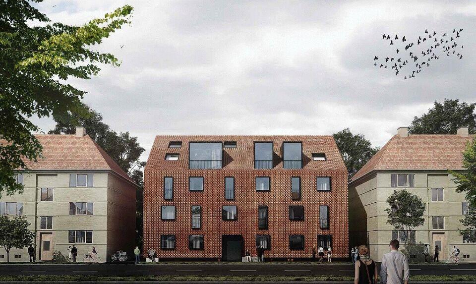 Helt ny 4-værelses penthouse i Valby