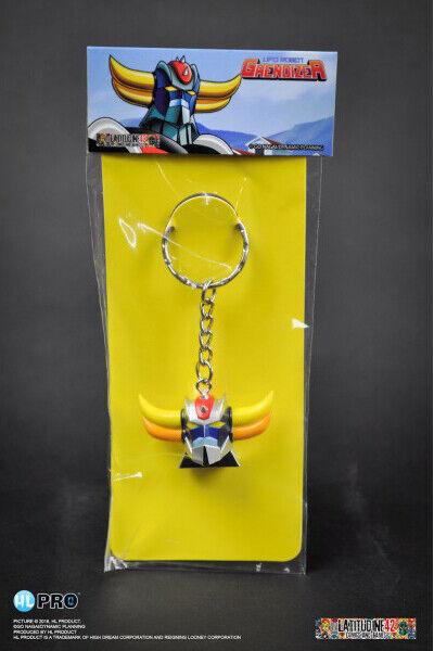 UFO Robot Goldrake Cabeza Llavero - Grendizer Head Keychain