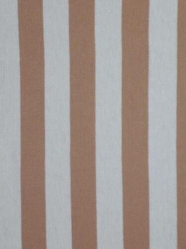 Luz raya horizontal ligero estiramiento jersey de algodón T-Shirt Tela Q1234