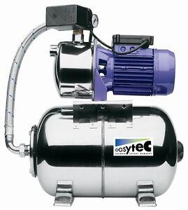 Hauswasserwerk Easytec VA 1308 Edelstahl 1300 W 5,3 bar 4500 l/h Gartenpumpe